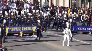 Toho HS Green Band - 2016 Pasadena Rose Parade