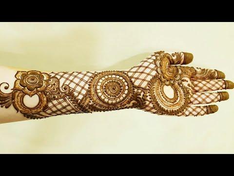 Bridal Henna Design 3 By Heena Vahid