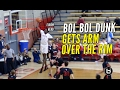 Bol Bol Arm Over The Rim On Dunk; Drops 19 Points & 8 Boards!!