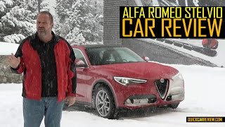 CAR REVIEW: 2017 Alfa Romeo Stelvio Test Drive