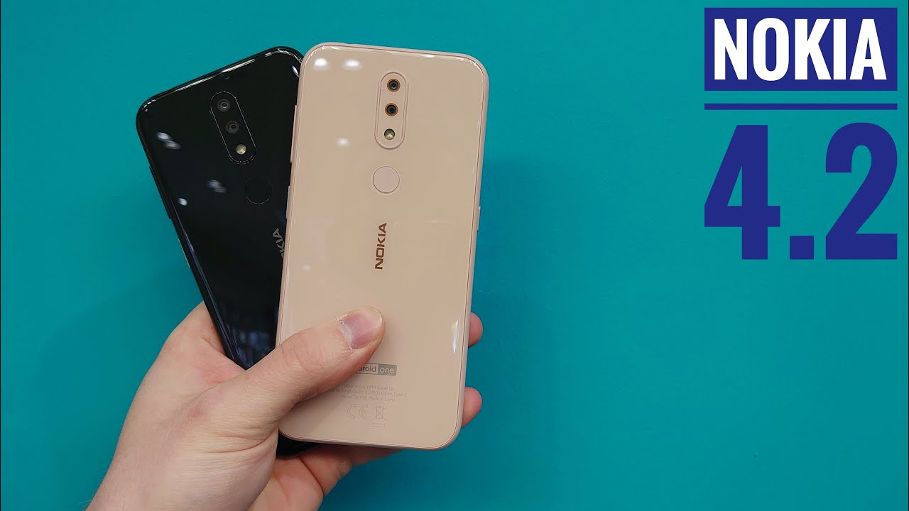 Nokia 4.2 Unboxing, Setup and First Look