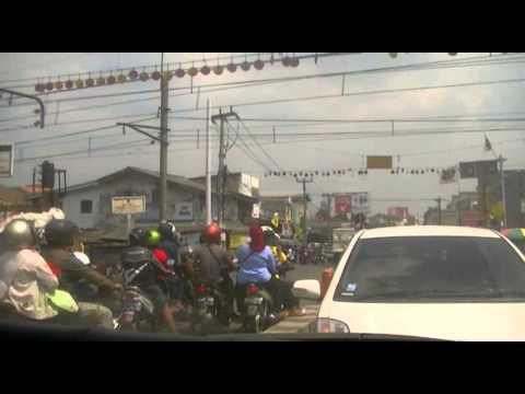 Жизнь в Индонезии - Дороги в пригородах Джакарты (Депок)