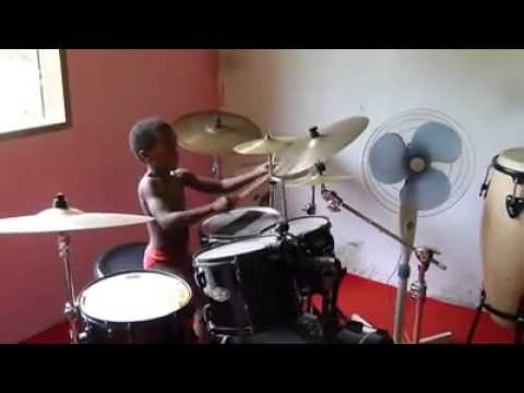 how to play black betty on drums easy version