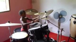 6 year old martinican kompa drummer