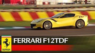 Ferrari F12tdf Official Video Youtube