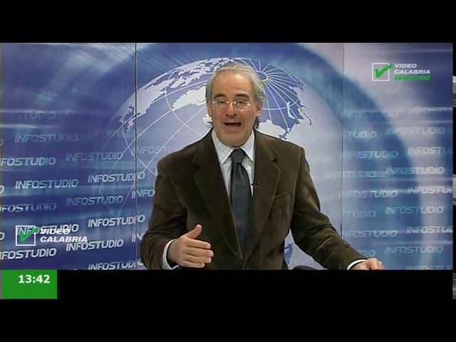 InfoStudio il telegiornale della Calabria notizie e approfondimenti - 13 Aprile 2020 ore 19.15