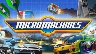 Micro Machines Android Gameplay
