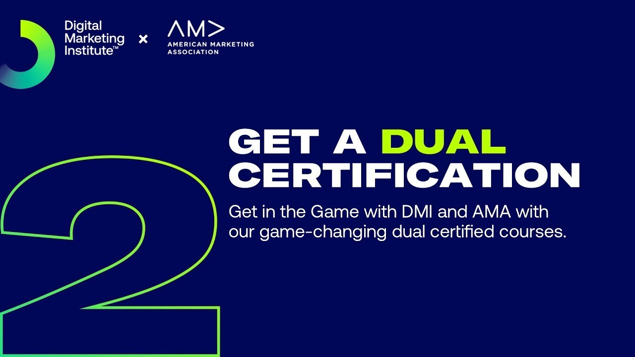 Digital Marketing Institute | What are the benefits of the DMI AMA partnership?