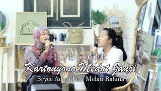 Kartonyono Medot Janji - Live Cover Bryce Adam & Melati