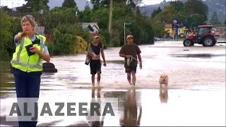 New Zealand floods force mass evacuations