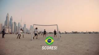 chevrolet cup 2016 uae mascot ryan mewakili brazil