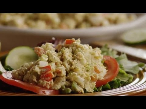 Vegetarian Recipes - How to Make Chickpea Sandwich Filling - YouTube