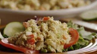How to Make Chickpea Sandwich Filling  Vegetarian Recipes  Allrecipes.com