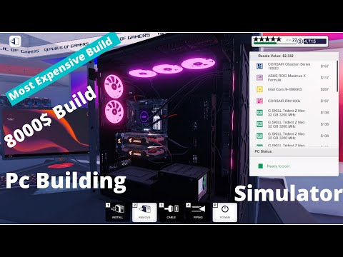 Most expensive build in PC Building Simulator !! Going all out !! Tech Isekai |