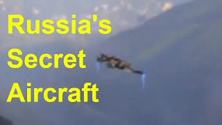 Secret Russian Military Drone Testing Video Leaked | Russia secretly Testing UFO Technology Aircraft