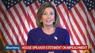 Nancy Pelosi Launches Impeachment Inquiry of President Trump