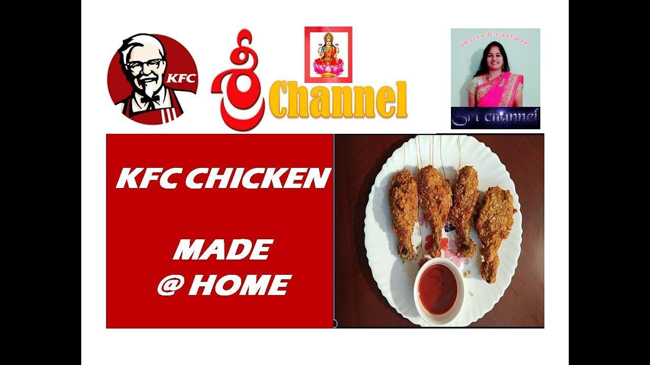 how to make kfc chicken at home in tamil