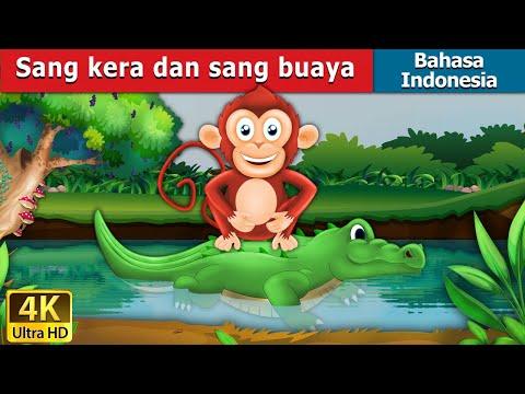 Sang kera dan sang buaya | Dongeng anak | Kartun anak | Dongeng Bahasa Indonesia