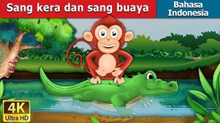 Video Sang kera dan sang buaya  | Monkey & Crocodile in Indonesian | Dongeng anak | Indonesian Fairy Tales download MP3, 3GP, MP4, WEBM, AVI, FLV Agustus 2018