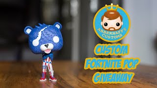 Fortnite Custom Pop vinyl Giveaway