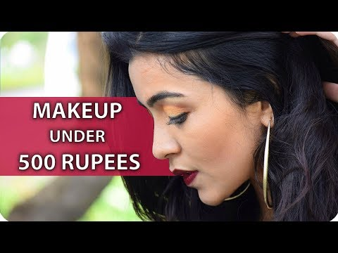 Indian Party Makeup Tutorial  | BEST Makeup Under 500 Rupees