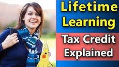 Lifetime Learning Credit 2018 - Education Credits 2017 - Full Overview