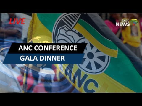 ANC Gala Pre-Conference Dinner: 29 June 2017