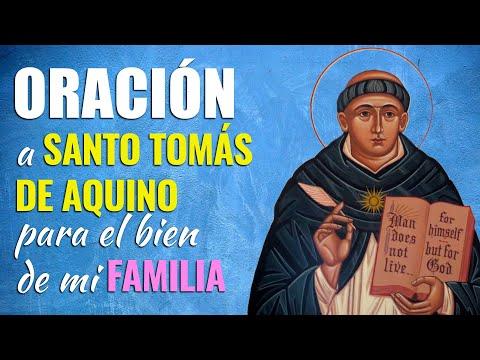 🙏 Oración a Santo Tomás de Aquino para EL BIEN de toda LA FAMILIA 👨👩👧👦