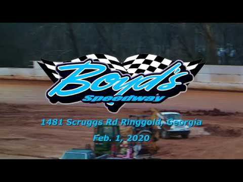 Crate Late Model @ Boyds Speedway Cabin Fever Feb  1 , 2020