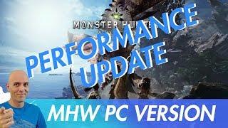 MONSTER HUNTER WORLD PC Performance Hightest Settings UPDATE NEWS !!  / GeForce 398.82 Driver