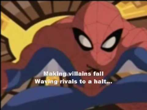 Spectacular Spider-Man Animated Series Title Song(With Lyrics)
