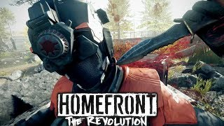 Homefront The Revolution: Stealth Infiltration Gameplay
