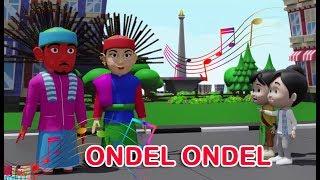 ONDEL ONDEL (lagu daerah Betawi) | 3D | Lagu Daerah | Lagu Anak Channel