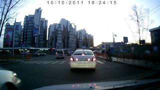 Очередной далбоеб на Toyota Camry