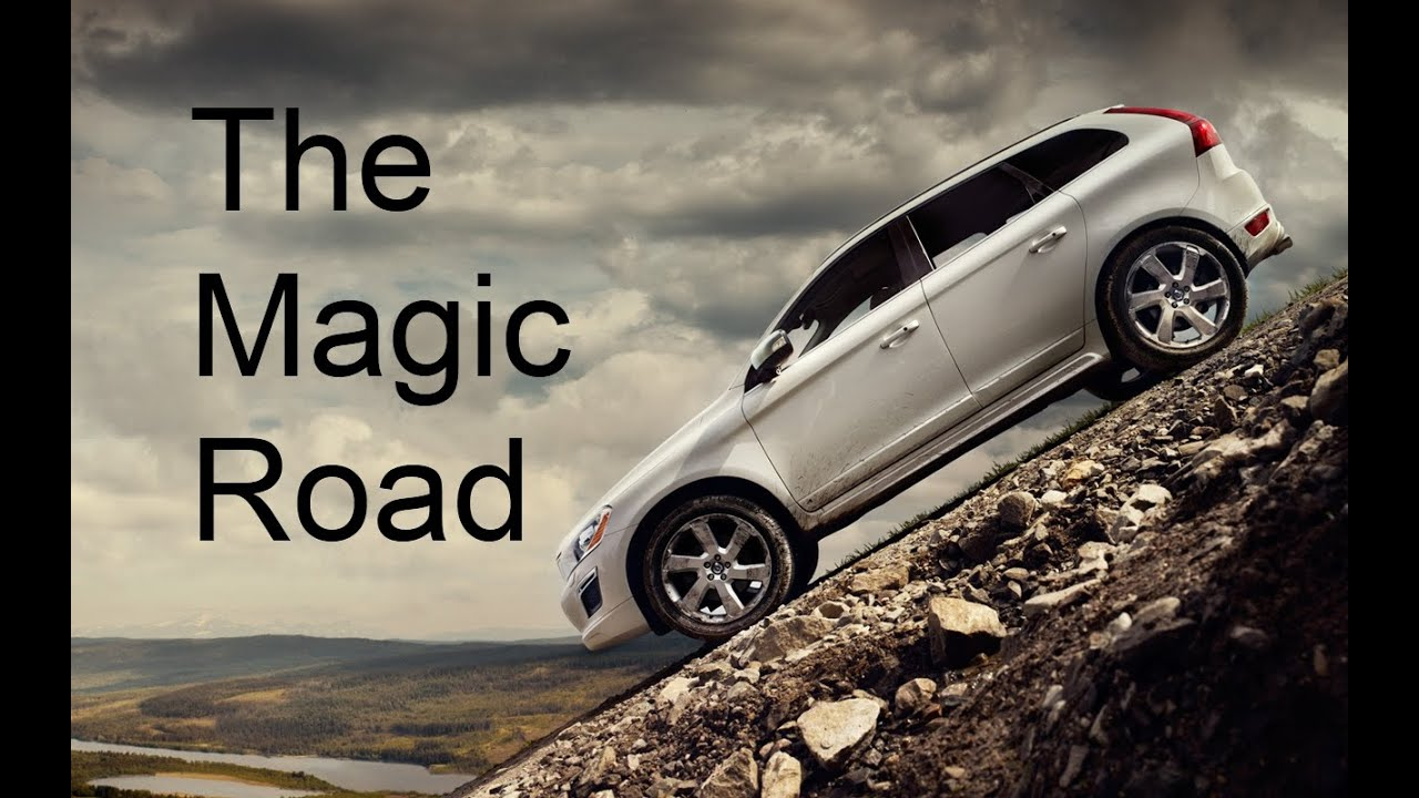 Caught On Film The Magic Road In Ireland Where Cars Roll Uphill