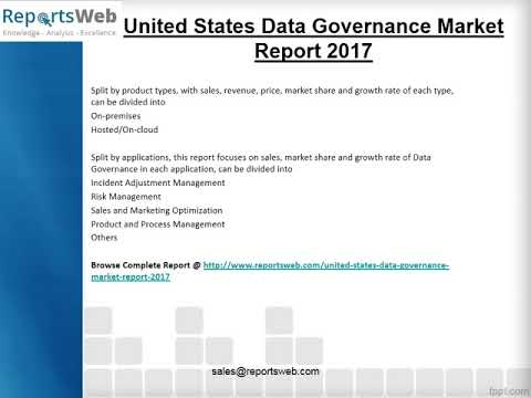 2017 Analysis: United States Data Governance Industry