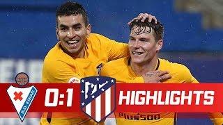 Eibar vs Atletico Madrid 0-1 Resumen Highlights 13/01/2018