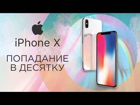 Самый полный обзор IPhone X