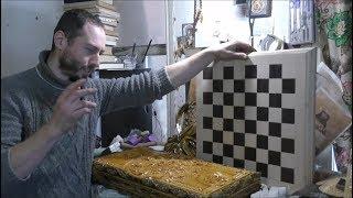 видео Резьба по дереву, резные сувениры из дерева