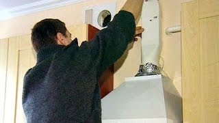 Как установить вытяжку(Вытяжка на кухне необходима для удаления гари и паров. Лучше если вытяжка будет находиться непосредственно..., 2014-08-17T18:04:28.000Z)