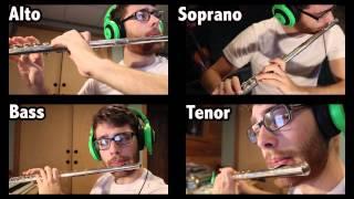 Hallelujah Chorus Flute Quartet