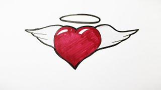 graffiti heart draw drawing getdrawings