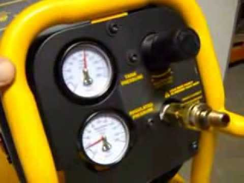 Dewalt 15 Gallon Air Compressor 44585 Youtube