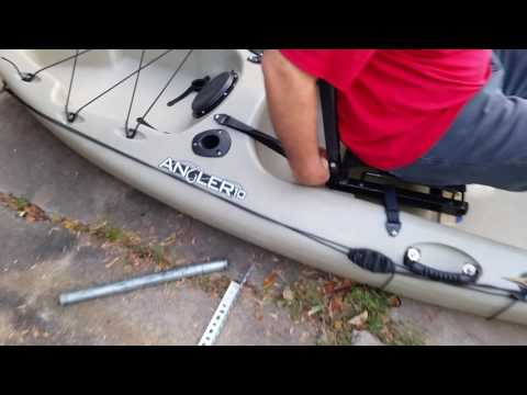 Stadium Seat Modification On Kayak