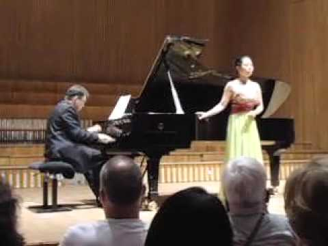 LEE SO MYEONG & Prof. ROBERT MORAWSKI #15, Rossini: Aria La Fioraia Fiorentina (Final Concert)