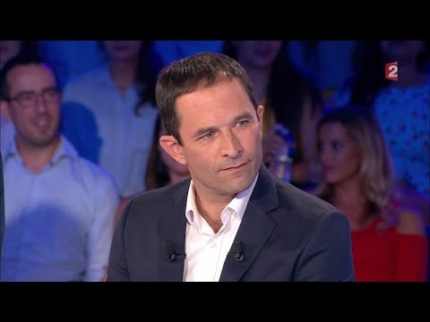 Benoit Hamon - On n'est pas couché 3 septembre 2016 #ONPC