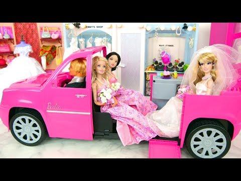 New Clothing Store for Dolls, Barbie Wedding Dresses Loja de roupas Toko pakaian محل الملابس