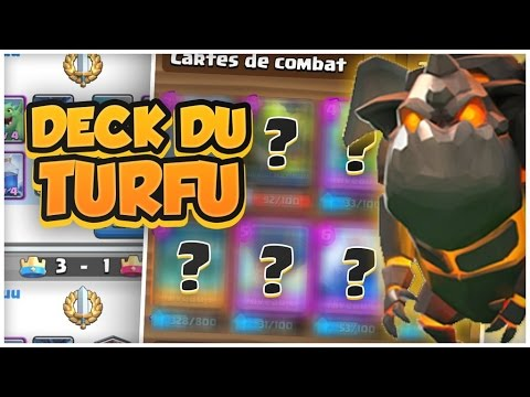 12 0 avec un deck molosse du futur sur clash royale for Clash royale meilleur deck arene 7