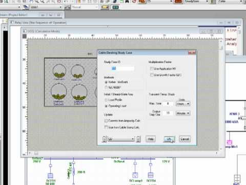 ETAP 7.1 - Cable Ampacity - Part 1