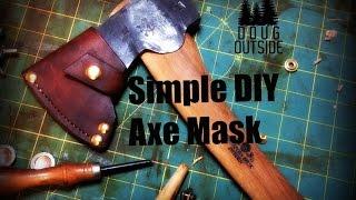 Simple DIY Axe Mask